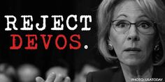 Two Republican Senators have decided to stand up for public schools. We only need one more vote to block this unqualified nominee. (27304 signatures on petition)
