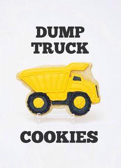 Dump Truck Cookies by sweetkiera, via Flickr