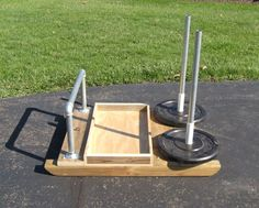 Building a homemade Prowler sled