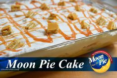 Moon Pie Cake - and how I surprised Jeff Foxworthy