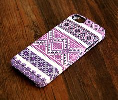 Please follow!!!! Violet Pink White Floral iPhone 6 Plus/6/5S/5C/5/4S/4 Protective Case – Ac.y.c