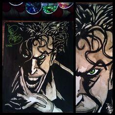 Joker Coffee painting (2012) Caotime