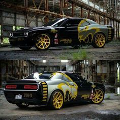 Goldrausch-Sammlung Hellcat - New Ideas Dodge Muscle Cars, Custom Muscle Cars, Custom Cars, Cool Sports Cars, Sport Cars, Dodge Challenger Srt Hellcat, Best Luxury Cars, Us Cars, Amazing Cars