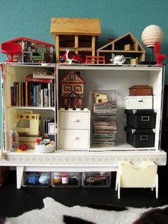 Mini craft room storage