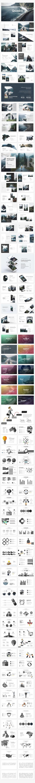 Quadro Premium Keynote Template 130+ Unique Slides