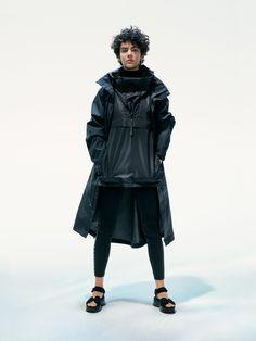 Unisex Arc Jacket, Unisex Yve Anorak and Tech Logo Leggings