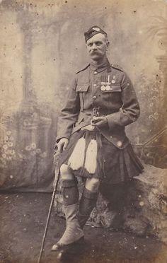 Cameron Highlander WWI
