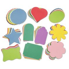 Darice® Cardstock Assorted Shapes 100 ct. for $4.97
