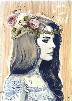 (Marilyn com Coroa de flores)Lana Del Rey_Summertime Sadness