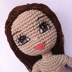 "65 Likes, 5 Comments - Kindabam Crochet💕 (@kindabam_crochet) on Instagram: ""Visit my Etsy store for your pattern / photo tutorial to make your very own cheeky doll. PDF…"""