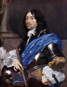 KING CHARLES X GUSTAV OF SWEDEN  6 June 1654–13 February 1660 by Sébastien Bourdons. He was  the second Wittelsbach king of Sweden & the son of John Casimir, Count Palatine of Zweibrücken-Kleeburg and Catherine of Sweden. After his father's death he also succeeded him as Pfalzgraf. He was married to Hedwig Eleonora of Holstein-Gottorp, who bore his son and successor, Charles XI.