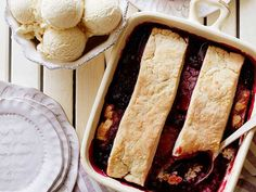 Blackberry Cobbler Recipe : Trisha Yearwood : Food Network - FoodNetwork.com