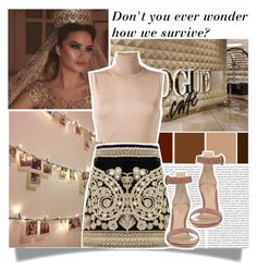 """""""if this was a fariytale..."""" by millionmafia ❤ liked on Polyvore featuring Oris, Lanvin, For Love & Lemons and Gianvito Rossi"""