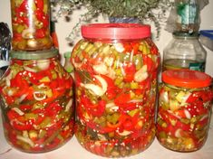 Mason Jars, Mexican, Ethnic Recipes, Food, Salads, Mason Jar, Meals, Mexicans, Jars