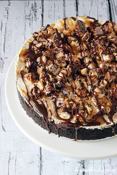 Samoa Cookie Ice Cream Cake