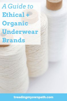 A Guide to Ethical + Organic Underwear Brands Treading My Own underwear brands - Under Wear Plus Size Underwear, Best Underwear, Underwear Brands, Vegan Fashion, Ethical Fashion, Slow Fashion, Ethical Clothing, Fashion Brands, Sustainable Clothing