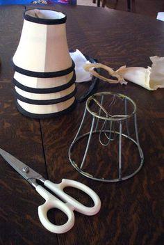 Chandelier Lamp Shade Metal Cutting