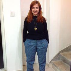 Anna trousers by Sol Rennó.