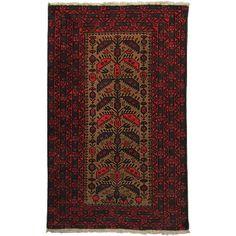 Beludj Kundi - csomózott afgán szőnyeg - O 55394.6