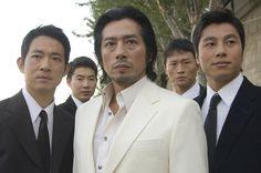"Hiroyuki Sanada (center) stars as ""Kenji"", flanked by his Triad henchmen, in New Line Cinema's action comedy RUSH HOUR Saint Yves, Chiba, Rush Hour 3, 47 Ronin, Japanese Face, The Last Samurai, New Line Cinema, Les Continents, Jackie Chan"