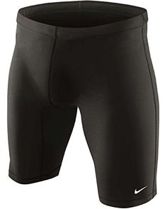 Kayaking  Nike Swim TESS0051 Mens Nylon Core Solid Jammer, Black-32 * This is an Amazon Associate's Pin. Locate the item on Amazon website simply by clicking the VISIT button