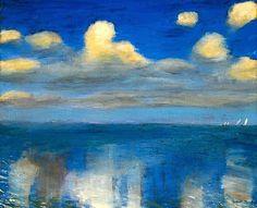 Emil Nolde, Stilles Meer, 1936