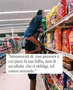 Innamorati di una persona | BESTI.it - immagini divertenti, foto, barzellette, video Tumblr Quotes, Life Quotes, Best Quotes, Italian Love Quotes, Devil Quotes, Tumblr Love, Just Friends, Phobias, My Mood