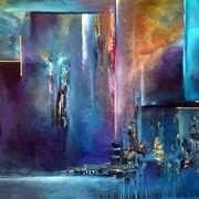 Jaanika Talts - Estonian art - Estonia and Dublin, Ireland Art Painting, Modern Art Paintings Abstract, Abstract Painting, Abstract Art, Fairy Artwork, Art, Irish Art, Abstract, Judaica Art