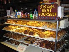 The French Pastry Shop in the La Fonda Hotel in Santa Fe, New Mexico