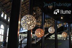 Luminária Pendente Floral e Coral - David trubridge - Mais Lume maislume@gmail.com www.maislume.com