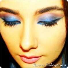 Blue n pink