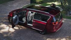 2017 Chrysler Pacifica with new hands-free sliding doors and rear hatch