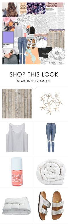 """""""//when I dance alone and the sun's bleeding down/blame it on me//"""" by vanilla-chai-tea ❤ liked on Polyvore featuring NLXL, Chanel, Color Me, Monki, Topshop, Boohoo, Brinkhaus, Frette, Birkenstock and Herschel Supply Co."""
