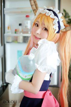Bỏng mắt với bộ ảnh cosplay Kobayashi-san Chi no Maid Dragon tuyệt đẹp | Cotvn.Net
