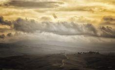 Tuscany - Landscape near San Quirico d'Orcia