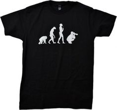 10.Evolution of the Photographer T-shirt