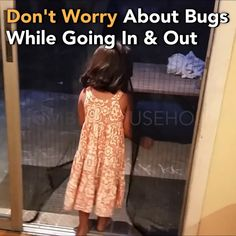With extra-strength magnets, the Magnetic Mesh Screen Door opens when you walk into it, and snaps shut when you walk through it. Making sure not to let any bugs in at all. Mesh Screen Door, Quilt Material, Cool Inventions, Things To Buy, Stuff To Buy, Diy Home Improvement, Home Hacks, Cool Gadgets, Homemaking