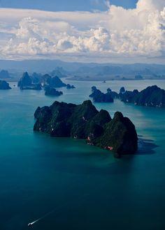 scenery, nature, landscapes, oceans, water, rocks, skies, clouds