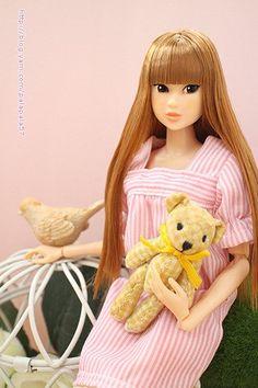 helloblythe @helloblythetw 3月27日  lovely Bear~ #momokoph