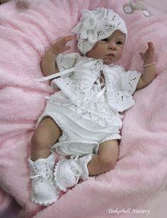 Georgia by Linda Murray & cloth body - Online Store - City of Reborn Angels Supplier of Reborn Doll Kits and Supplies