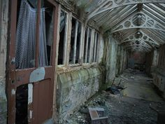 The 15 creepiest abandoned places in Britain you'd NEVER spend the night in – The Sun Abandoned Places In The Uk, Abandoned Cities, Abandoned Mansions, Abandoned Houses, Abandoned Hospital, Abandoned Amusement Parks, Spooky Places, Old Churches, Ghost Towns
