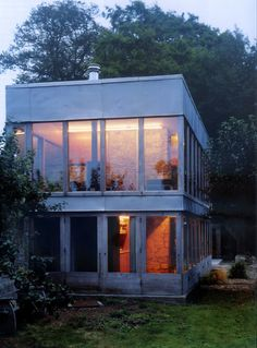Sergison Bates . Restoration of The Solar Pavilion by Peter and Alison Smithson . Tisbury