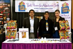 Cobra Corn at the 2012 NASFT Winter Fancy Food Show in San Francisco