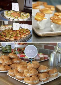 15 absolutely stunning buffet wedding menu ideas - backyard wedding - cuteweddingideas.com