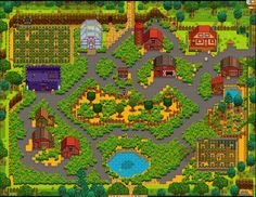 stardew valley show your farm - Google Search