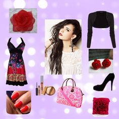 """""""Kaliyah"""" by iistrawberry ❤ liked on Polyvore"""
