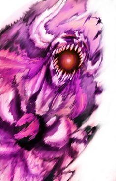 Bleach: - Ichigo new Hollow - by Amaterasu-kun.deviantart.com