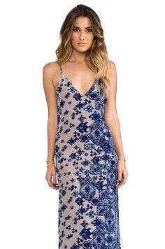 Rory Beca Jan Deep V-Neck Maxi Dress in Luiza from REVOLVEclothing Bridesmaid Dress