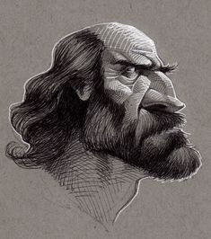 Be Awesome: Sketches of Some Old Guys