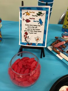 Can you guess how many Swedish fish!!??